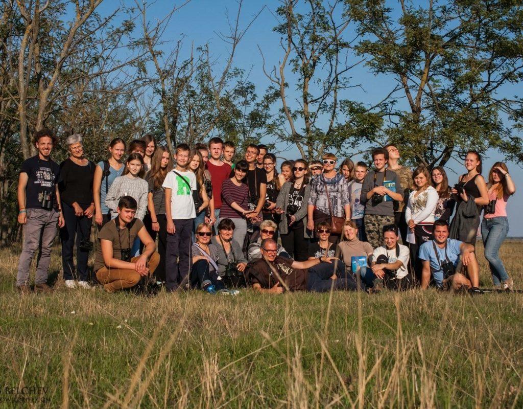 Tarptautinis Projektas Sukuosi Ratu Su Paukščiais Kartu. Hortobagy Nacionalinis Parkas. Vengrija.
